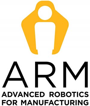 ARM Advanced Robotics for Manufacturing Logo