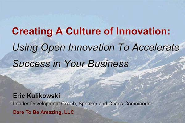 Creating a Culture of Innovation | Webinar