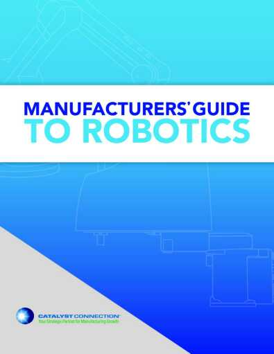 Manufacturers Guide to Robotics