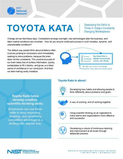 MEP National Network | Toyota KATA