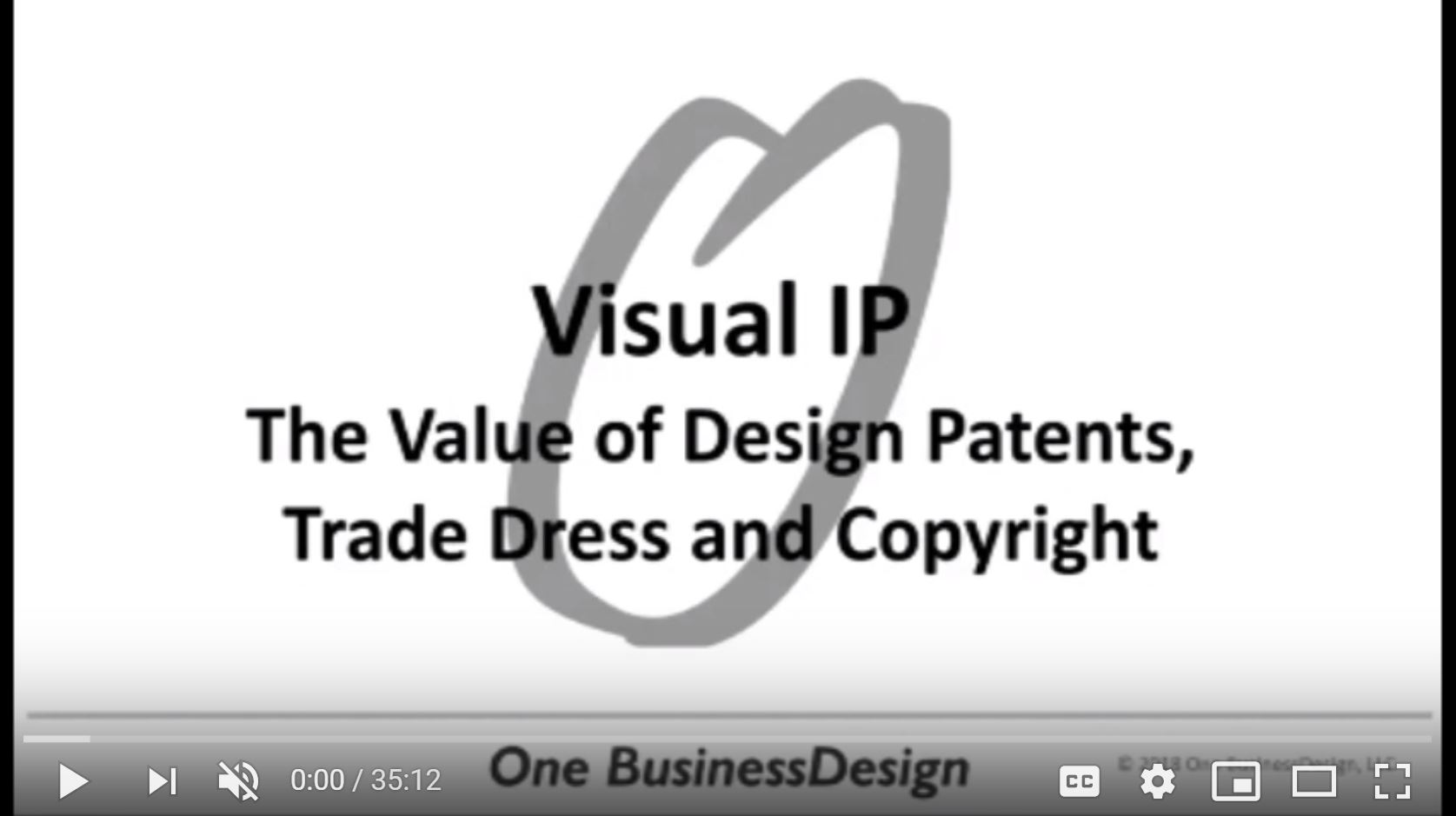 Visual IP - The Value of Design Patents, Trade Dress and Copyrights
