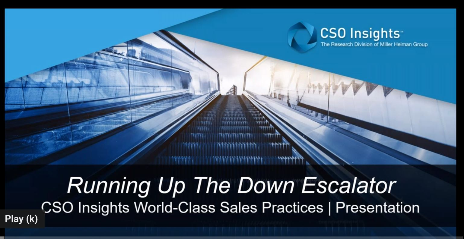 Identifying Performance Gaps and Implementing World Class Sales Practices Webinar