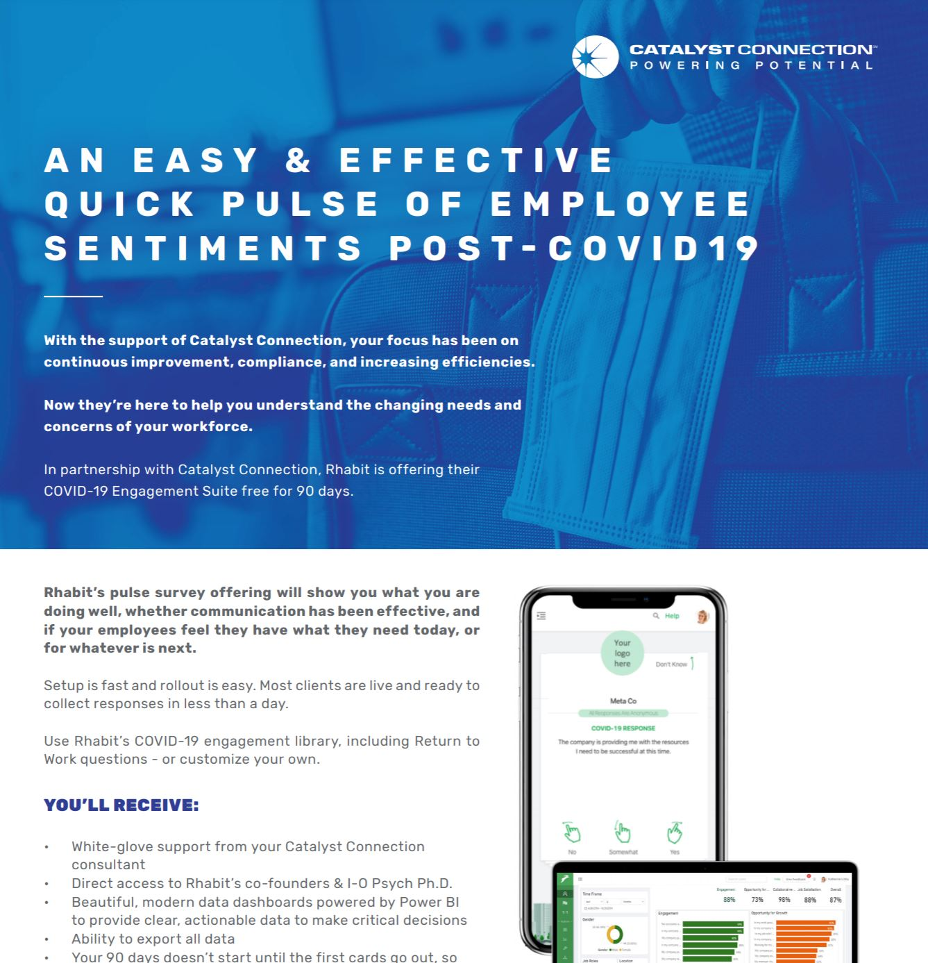 Take the Pulse of Your Workforce During COVID-19