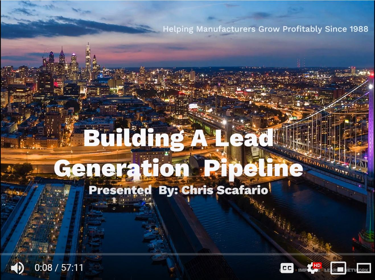 Building a Lead Generation Pipeline