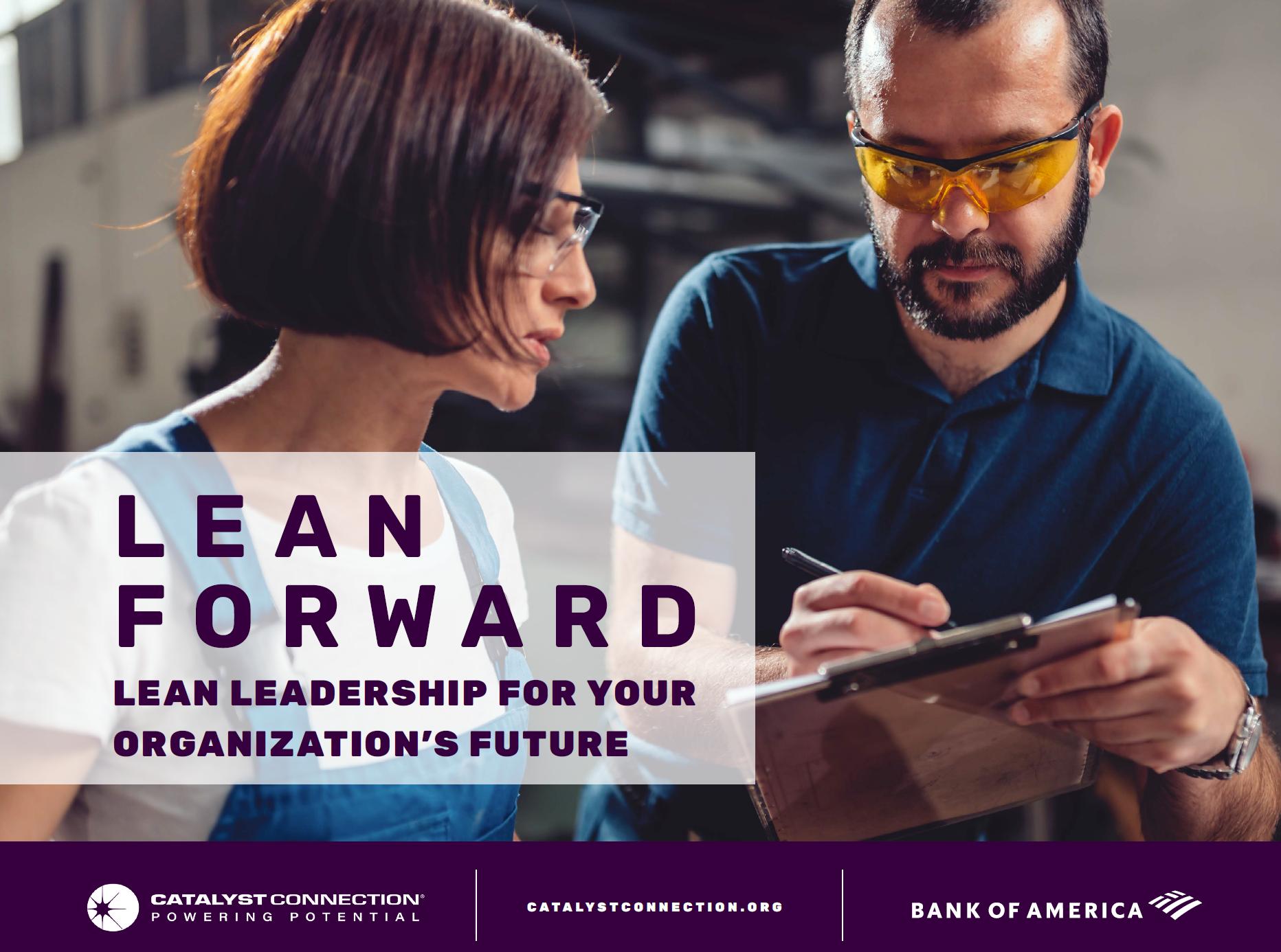 Lean Forward: Volume 2 - Lean Leadership for Your Organization's Future